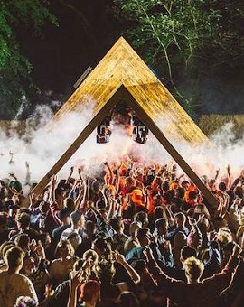 Revellers at Gottwood Festival, one of many events supported by award-winning production company The Fair