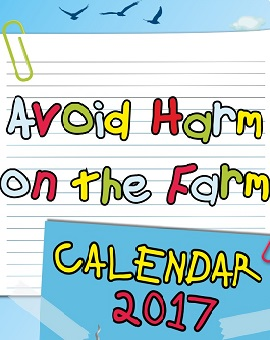 The 'Avoid Harm on the Farm' calendar has been released by HSENI with sponsorship from IOSH