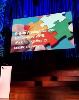 The Britain Against Cancer Conference 2016
