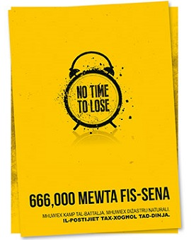 IOSH's No Time to Lose campaign has been translated into Maltese