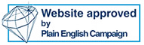 Plain English Campaign Internet Crystal Mark logo