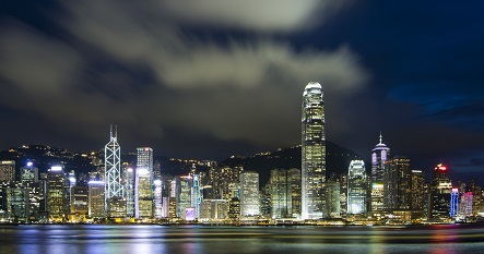 Photo of the Hong Kong city skyline