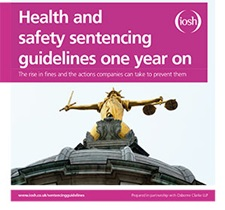 Health and safety sentencing guidelines one year on