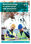 Nanotechnology in construction and demolition IOSH report