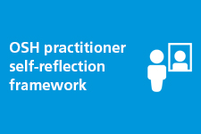 OSH practitioner self-reflection framework