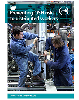 Preventing OSH risks to distributed workers