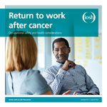 Return to work after cancer report