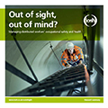 Out of sight, out of mind research front cover