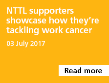 NTTL supporters showcase how they're tackling work cancer
