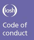 Purple  cover with Code of Conduct title on it