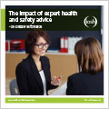 Impact of expert health and safety advice
