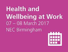 Health and wellbeing at work event details