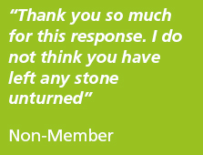 Thanks you so much for this response. I do not think you have left any stone unturned. Quote - Non-member