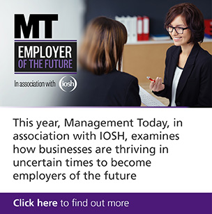 "IOSH is partnering with Management Today's ""Employer of the future"""
