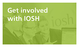 Get involved with IOSH