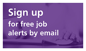 Sign up for free job alerts by email
