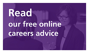 Read our online careers advice