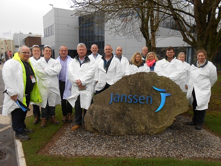 Ireland rural industries section at Janssen site visit