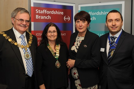 Staffordshire Branch launch officials