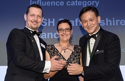 Staffordshire branch Excellence awards