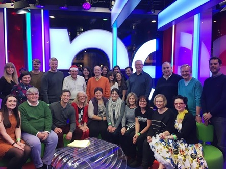 Braodcast and Telecommunications Group at the BBC One Show