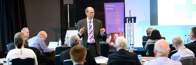 Photo from the Rail Industry Conference