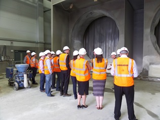 Presentation and Tour of the Tunnelling and Underground Construction Academy - 24 June 2014