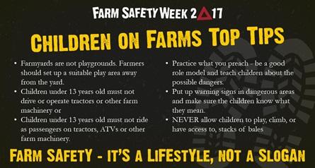 Farm Safety Week 2017 day 5