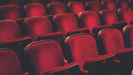 Photo of seats in a theatre