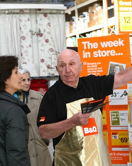 B and Q worker