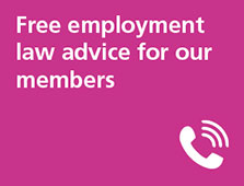 Free employment law advice for our members