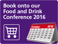 Food and drink conference promo panel image