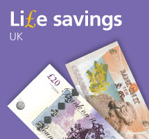 Life savings UK