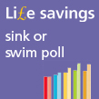 Colourful bar chart to IOSH Life savings Sink or swim poll