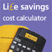 Calculator to represent IOSH Life savings Cost calculator