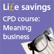 Pair of spectacles to represent IOSH Life savings CPD course