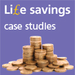 IOSH Life savings Stacks of coins Case studies