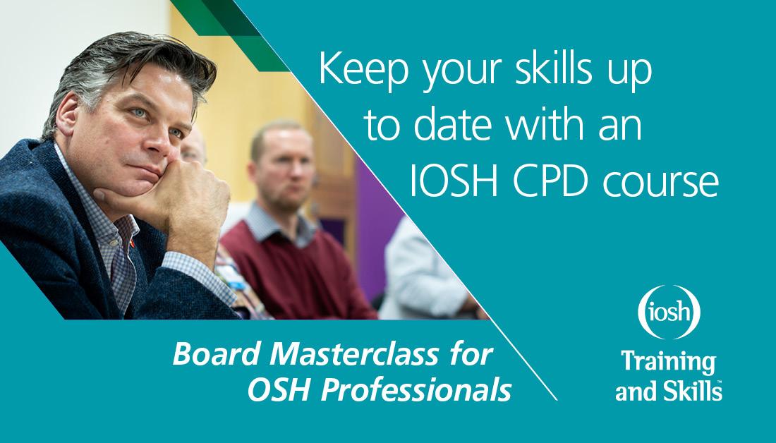 2a1e06a5c7 ... IOSH CPD course ...
