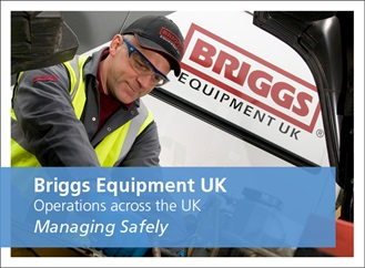Managing Safely course case study. Briggs Equipment UK