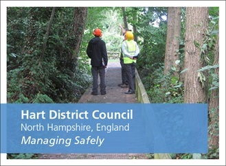 Managing Safely case study. Hart District Council