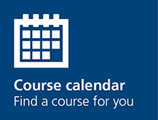 Course calendar, Find a course for you