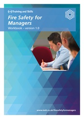 Fire Safety for Managers course workbook sample