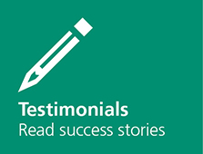 Testimonials, read the success stories
