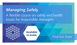 Managing Safely available in Arabic soon