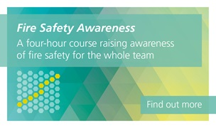 Fire Safety Awareness is a four-hour course on fire safety for the whole team