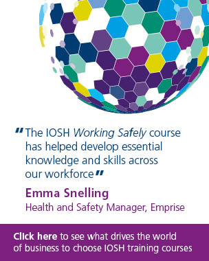 The IOSH Working Safely Course hsa helped develop essential knowledge and skills across our workforce, says Emrpise health and safety manager, Brett Edwards