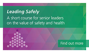 Leading Safely is a short course for senior leaders on the value of safety and health