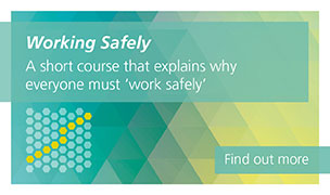 Working Safely is a short course that explains why everyone must work safely