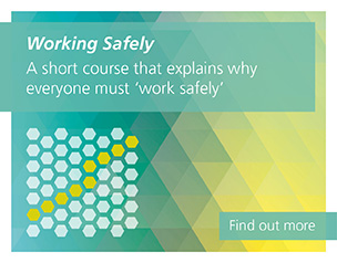 Working Safely, A short course that explains why everyone must 'work safely'. Find out more