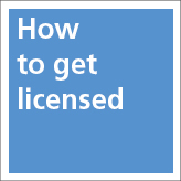 How to get licensed